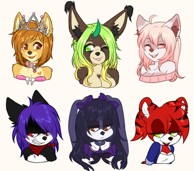 March Bust Commissions 3 by heartXsurgery