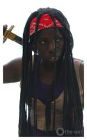 The Walking Dead - Michonne 1 by nay-only