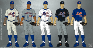 New York Mets 2012 Uniforms by JayJaxon