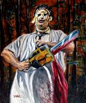 Leatherface bloody woods by JosefVonDoom