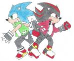 RQ Sonic and Shadow by 12051993