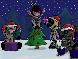 TFA - Merry Christmas 09 by Rosey-Raven