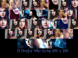 31 Doctor Who Icons by SerenaLuv
