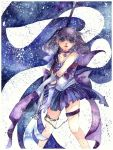 Commission: SailorSaturn Tomoe Hotaru by Lovepeace-S