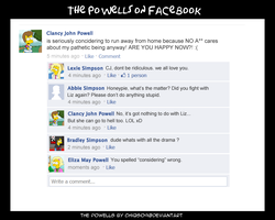 Powells on Facebook by chiQs09