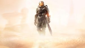 Halo 5 Guardians Master Chief by vgwallpapers