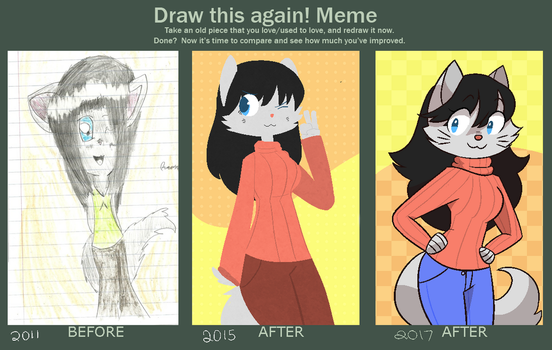 Draw It Again (2017 Edition) by kofukune