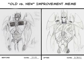 Old Prime Vs New Prime by MNS-Prime-21