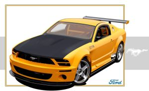 Ford Mustang 2005 - GTR by shen