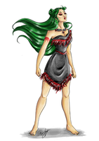 Sailor Princess - Pluto - Revisited by Ebsie