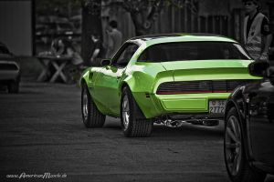 green TransAm by AmericanMuscle