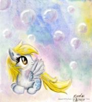 Derpy Bubble Dream by LinksLove