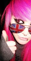 Septum and sunglasses by KatTheZombieWhore