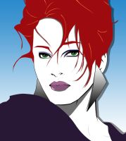 Homage to Patrick Nagel by Trish2