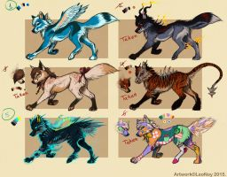 OPEN Auction Point Adoptables! CLOSED. by LeoNoy