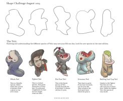 Shape Challenge August 2013 by Sheharzad-Arshad