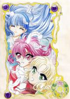 Magic Knight Rayearth by LightAngelSky