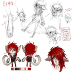 Evan ref by Vuohii
