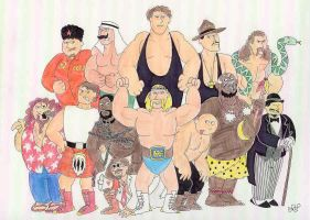 The Golden Age of the WWF by EmperorNortonII