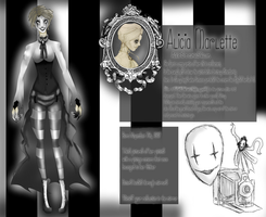 Alicia Marlette by UndeadPuppeteer