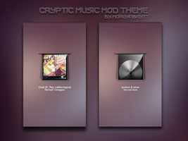 Cryptic MusicMod Theme by morgynbrytt