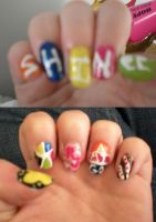 SHINee Nail Art? by xDisneyGirlx