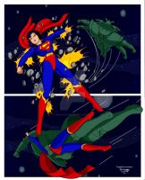 New Superwoman001d by Rogelioroman UPDATE by THE-Darcsyde