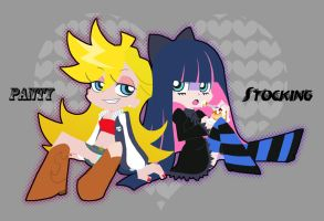Panty and Stocking 2 by isuzu9