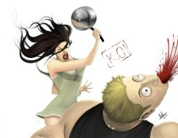 Domestic Violence by molee