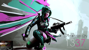 APB Reloaded Rainmeter by Kristiansax