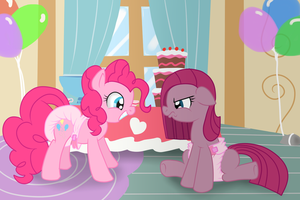 Party of One...Er Two by Hourglass-Sands