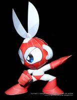 Paper Cutman From Megaman by Dil1880