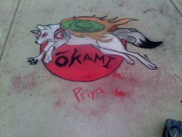 Chalk Day Final Product by Black-Tiger-of-Evil