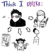 Things I Dislike by huxtiblejones