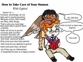 How to take care of your human no. 1 by Artdirector123
