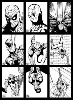 Sketch cards 8 Spidey by PENICKart