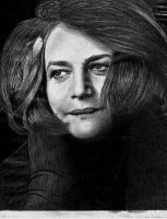 Charlotte Rampling by depoi