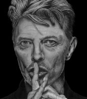 David Bowie (1947 - 2016) by Paul-Shanghai