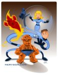 Fantastic Four by mervson