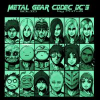 Metal Gear Solid Codec OCs by PhiTuS