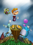 Rayman by Miopaint