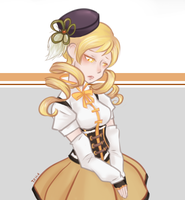 Mami Tomoe by SilaCinnamon