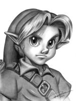 Young Link by pat-mcmichael