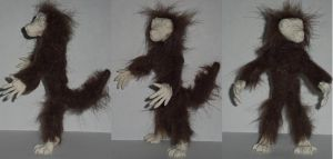 Small Werewolf Doll Proto by Ember-lacewing