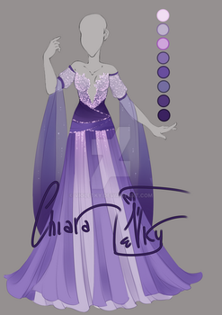:: Adoptable Lavender Outfit: AUCTION CLOSED :: by VioletKy