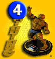 The Thing Heroclix by overseern