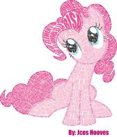 Pinkie Calligramme by JcosNeverExisted