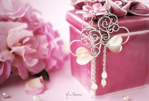Earrings L'amore mio... by AstannaJewelry
