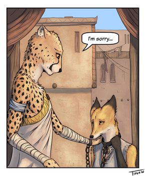 Taria Comic Teaser #1 by TitusW