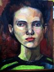Fearless Girl (oil) by mrhectormex